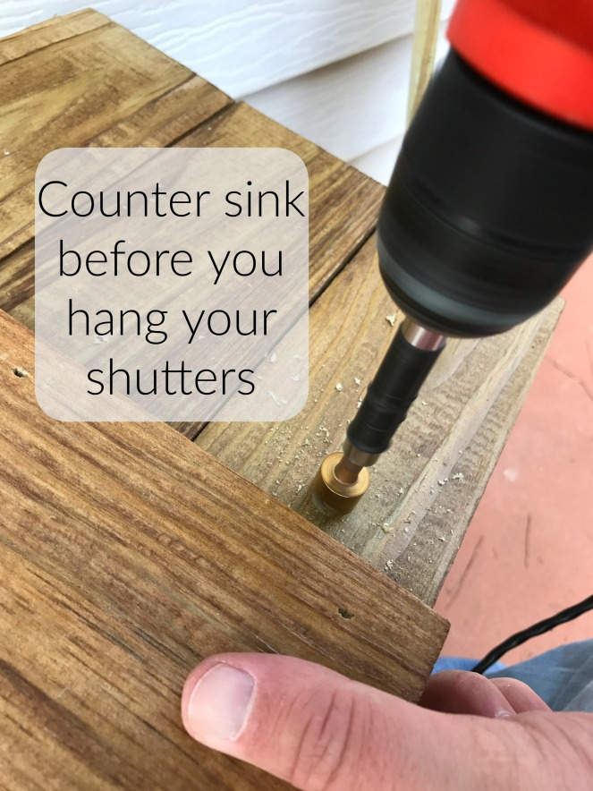counter-sink