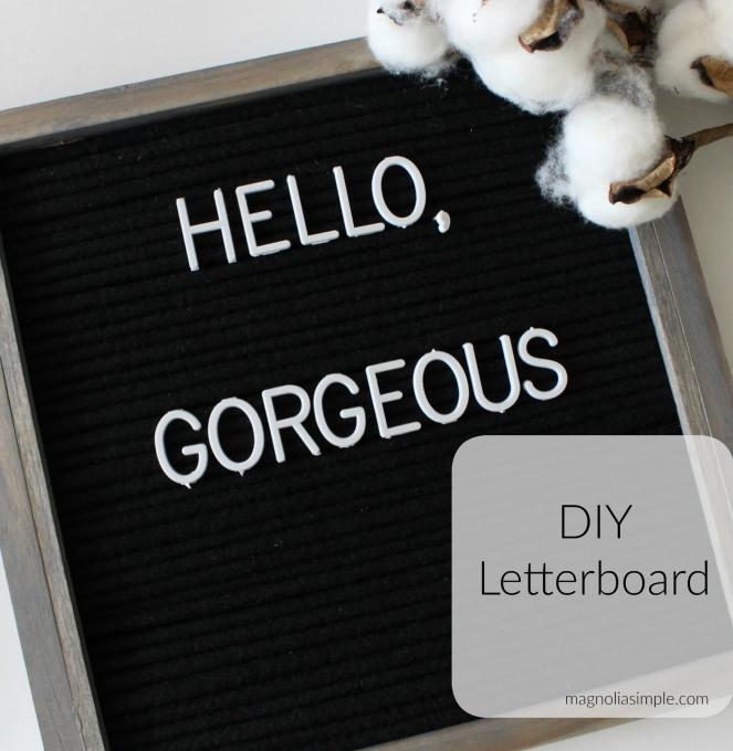 diy-letterboard