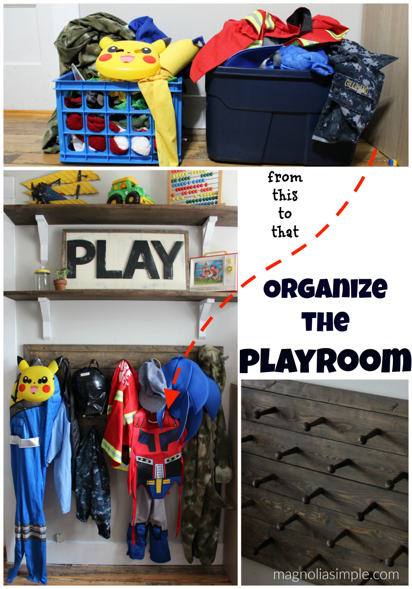 Organize the Playroom